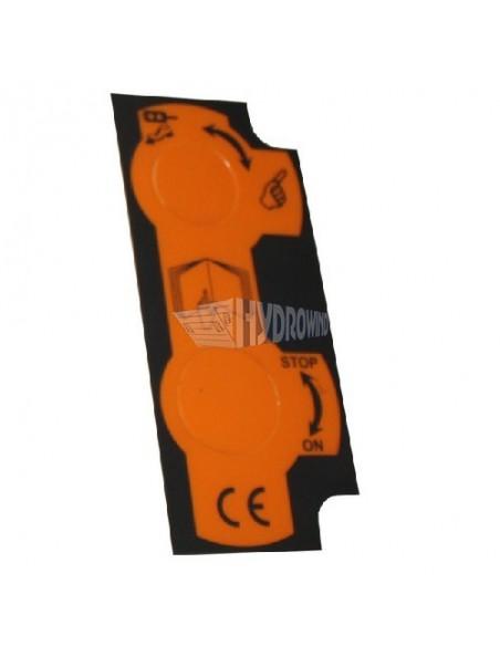 4051390L Prowadnica gumowa przewodu fi 18 mm